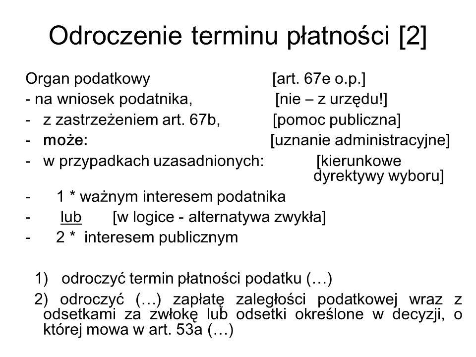Odroczenie terminu płatności [2]